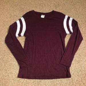 PINK long sleeve jersey shirt